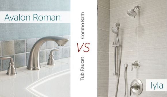 The Avalon Roman Tub Faucet And Ilya Combo Bath Made The Cut Which One Is Yo