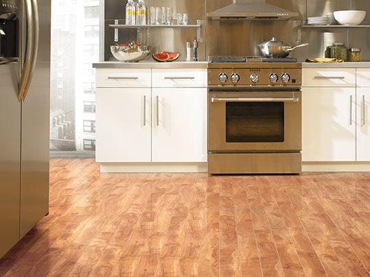 Tarkett Laminate Trends In Maple White Kitchen