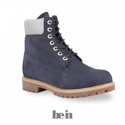 Женские синие ботинки тимбланд
