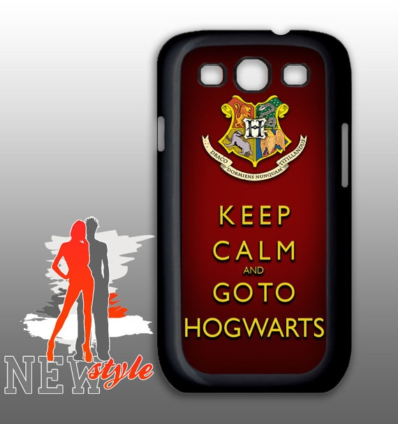samsung galaxy  Keep calm and go to hogwarts  by NewStyleDesign, $16.50