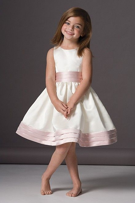 Seahorse Dress 46248 | Watters.com Flower girl dress