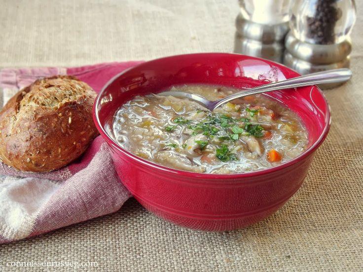 mushroom and leek soup with leek soup with mushroom and leek soup ...