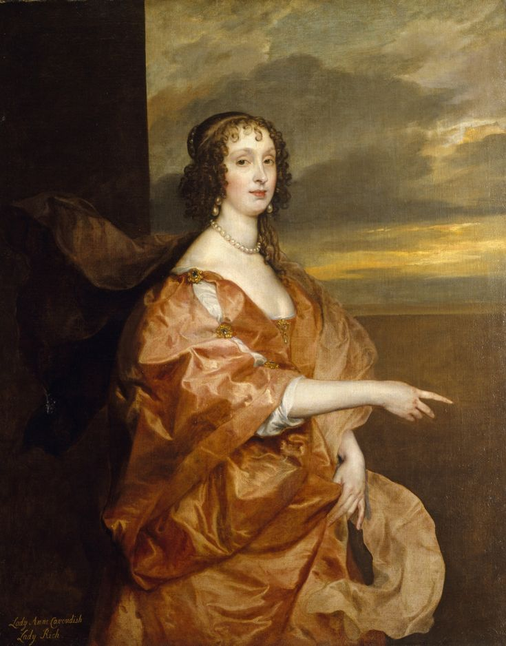 Anne Boteler, Countess of Newport, by Sir Anthony van Dyck, at Petworth House. ©NTPL/Derrick E. Witty