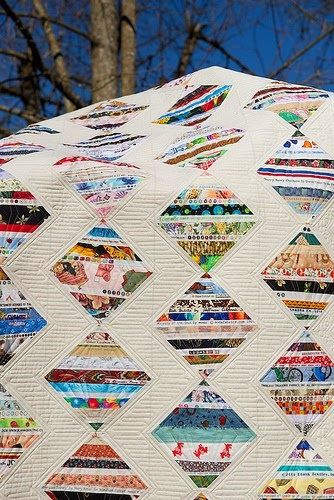 Mom's Selvage Quilt