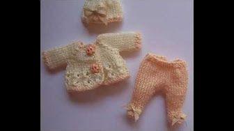 pasos a paso como tejer a crochet vestiditos - YouTube