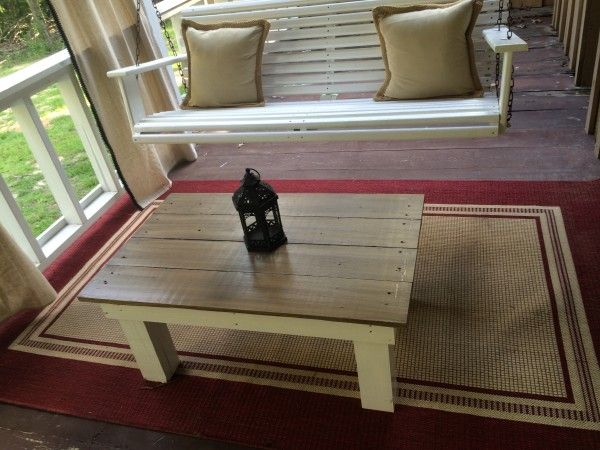 Do It Yourself Furniture: DIY Farmhouse Coffee Table