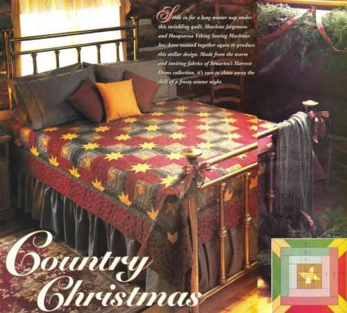 Quilt PATTERN ~ Country Christmas ~ Quilting Pattern from Magazine