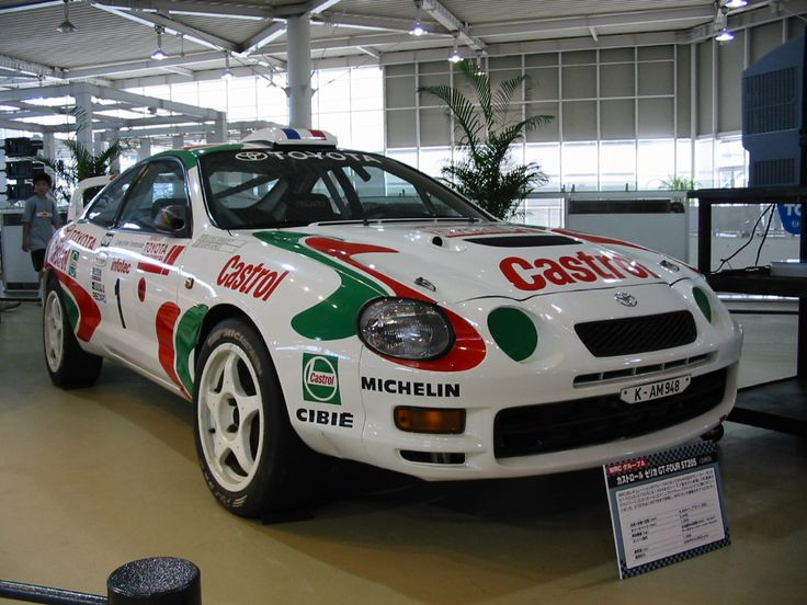 Toyota Celica GT-FOUR One for my garage please