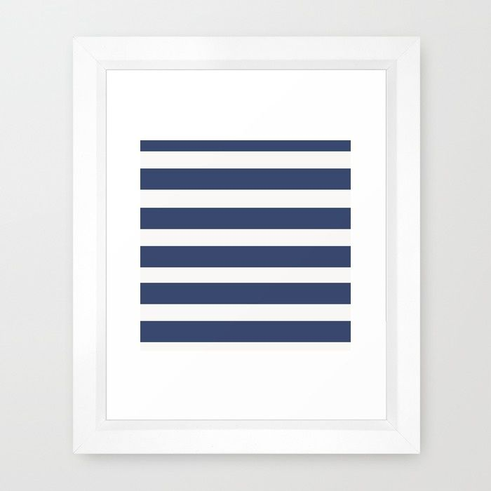 NAVY Nautical Framed Art Print
