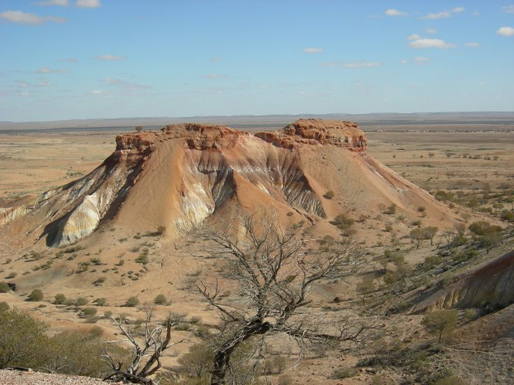 The Painted Desert SA a fragile and beautiful area