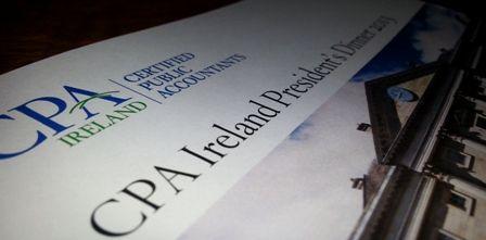 Joe Aherne,CPA Ireland President. Remarks at CPA Ireland President's Dinner. September 2013