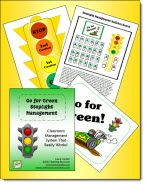 Go for Green Stoplight Behavior Management System - includes stoplight pattern, classroom forms, two Time Out forms, and complete directions $3.00