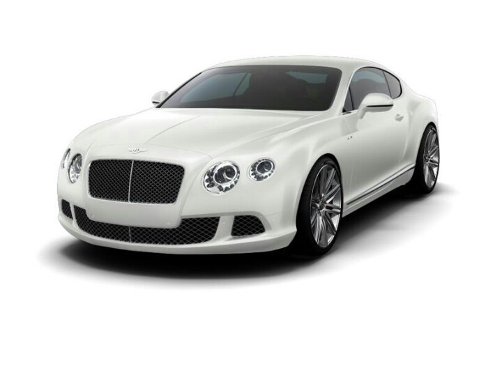 White Bentley Continental Gt Whip It Real Hard