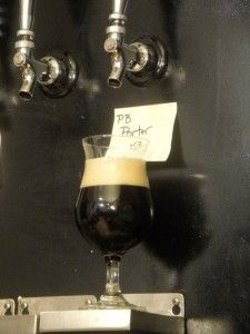 Peanut Butter Porter (homebrew). Going to give this a try when I start all grain brewing