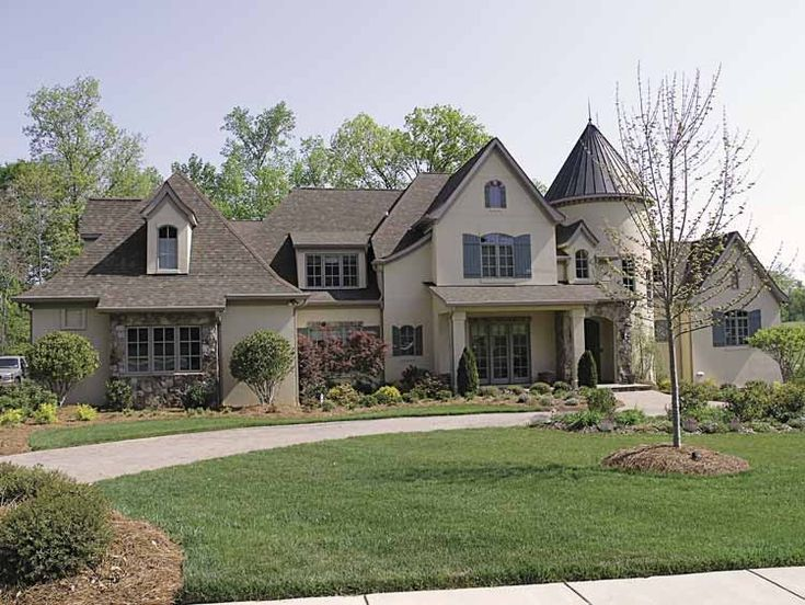 eplans european house plan six bedroom european 7480 square feet and 6 bedrooms from - European House Plans
