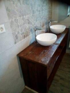 Waschtisch Doppelwaschtisch aus Holz in Dortmund - Dortmund-Derne ...
