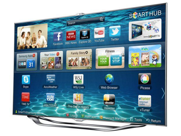 Samsung Smart TV LED 2014 H7000 serie 7 su  freeshop.it