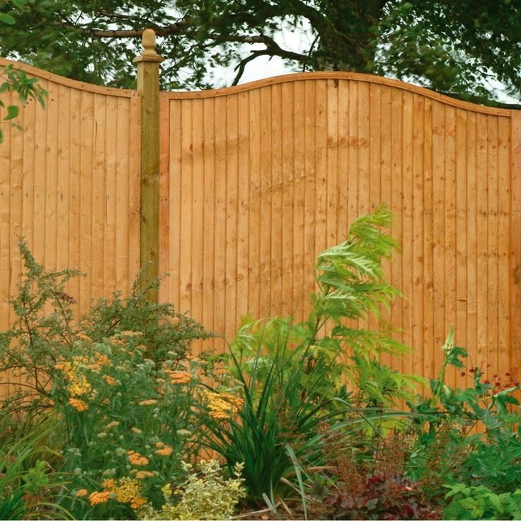 fence panels Board Wave Panel 183m