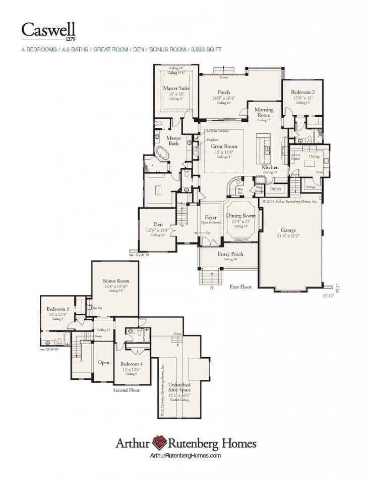 41 best Mid Sized House Plans images on Pinterest House floor