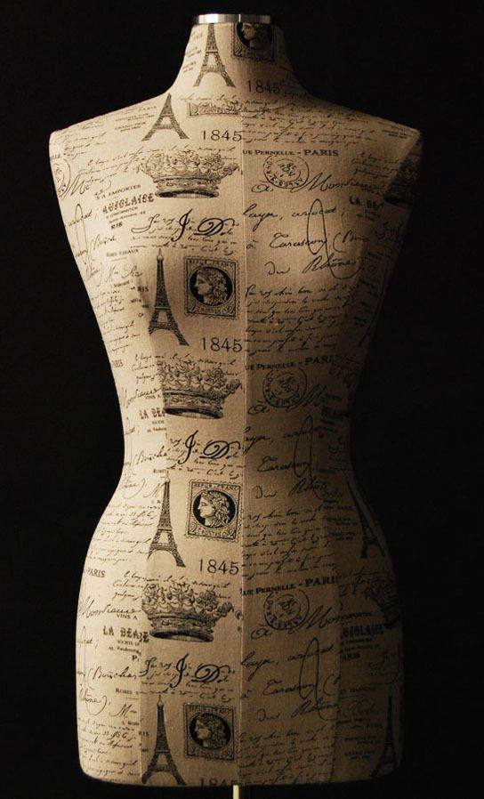 103 best Maniquies images on Pinterest | Dress form mannequin ...