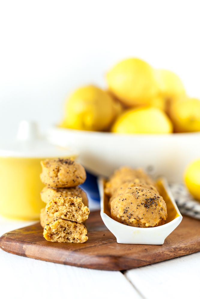 Lemon Poppy Seed Cookies #eastercocktailparty
