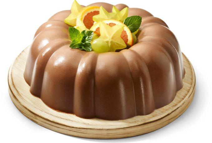 Gelatina Philadelphia de Chocolate
