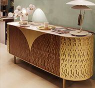 Vincent Sideboard Mid Century Modern Furniture by Essential Home