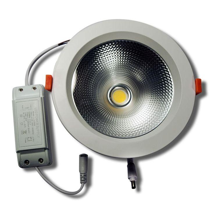 Faro da incasso LED 30W - Bianco Naturale - foro incasso Ø150mm - FN00470