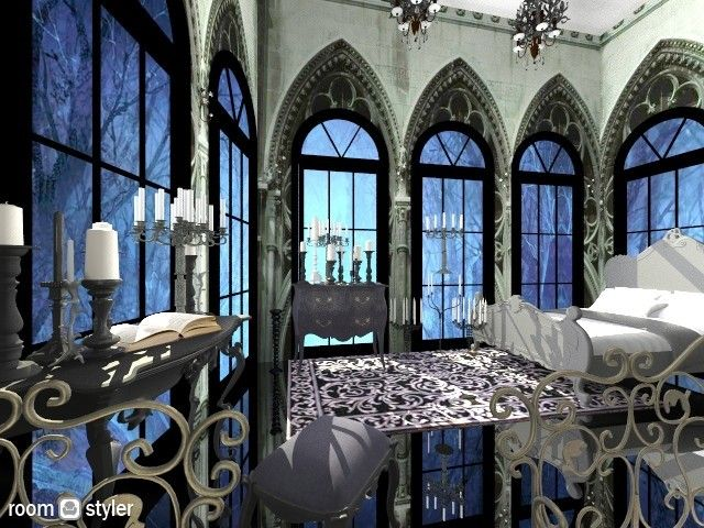 Living Room Dark Furniture Decorating Ideas Wall Mirror Singapore Elf   Tolkien 3d Design Pinterest ...