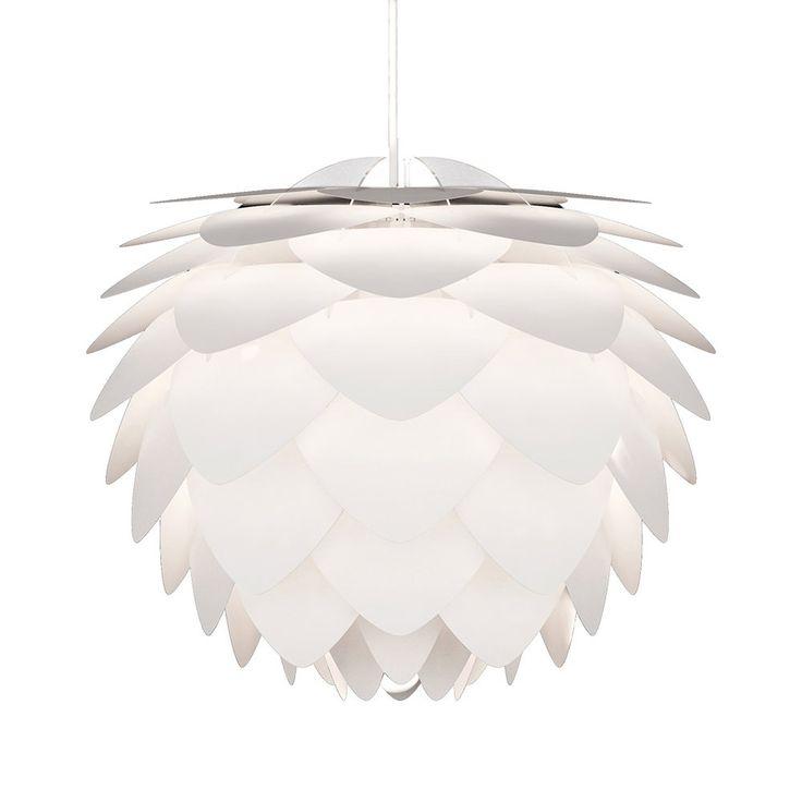 Silvia+Lampeskjerm,+Hvit,+Vita