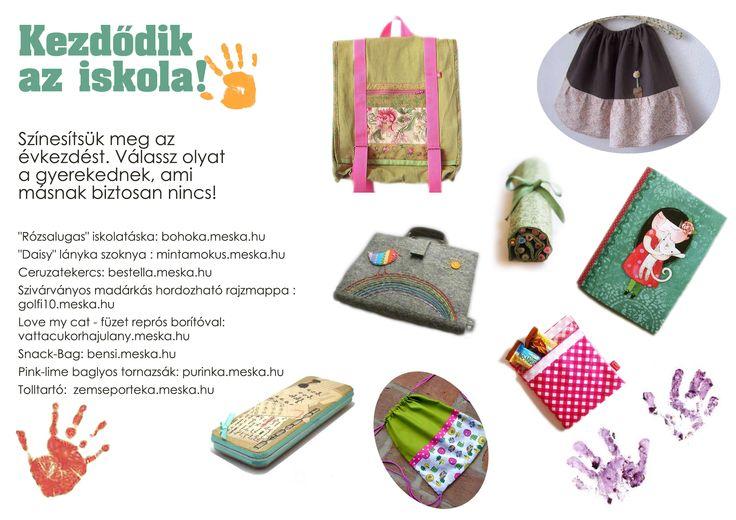 meska, kézműves, iskola, táska, ruha, gyerek, színes, handmade, school, bag, clothes, child, children, colorful