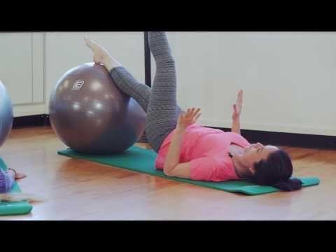 Routine de pilates qui tonifie en profondeur - YouTube