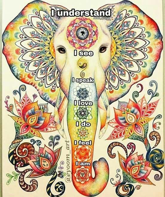 ☮ American Hippie Bohéme Boho Style ☮ Elephant