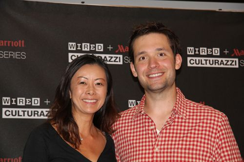 With Reddit cofounder Alexis Ohanian at Marriott MeetUp: Boston Long Wharf.  #Culturazzi
