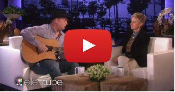 Garth Brooks Sings Heartbreaking Song On Ellen