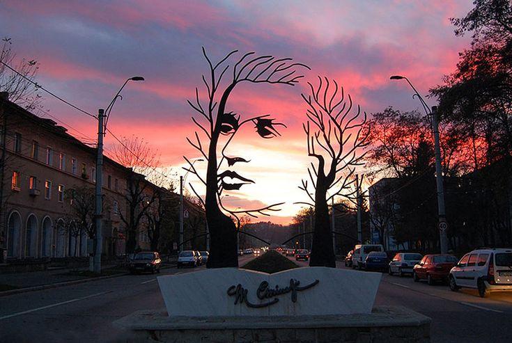 Sculpture In Romania By Onesti Romania