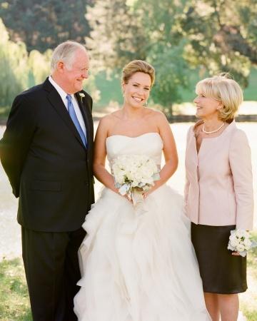 wedding etiquette: how to honor a stepparent