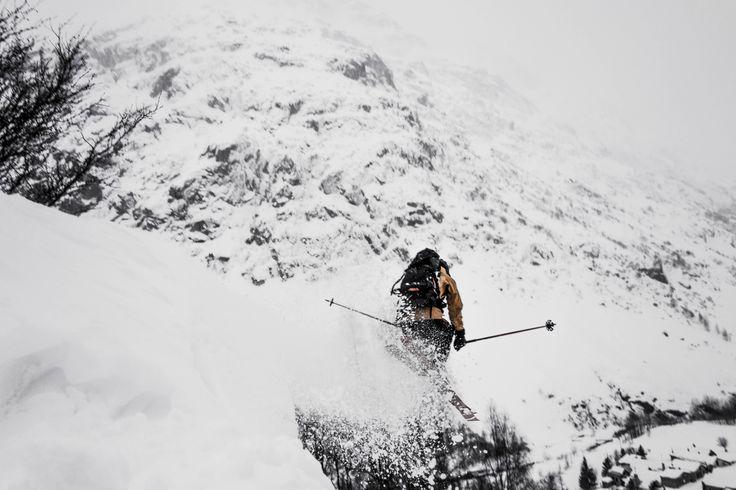 La Bérarde, Fev 14 #ski #powder #alps