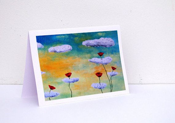 Birthday card wife Birthday card for her Happy by artbyasta