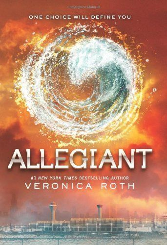 Allegiant by Veronica Roth.  The final installment in the Divergent series.