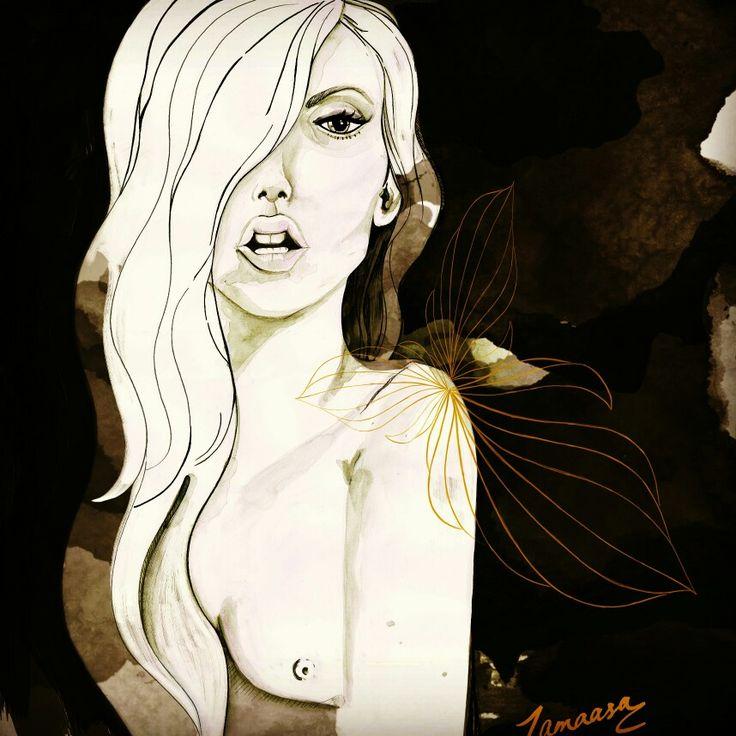 THE BLACK SRIES // B L A Q . Tamaasa artist illustrator