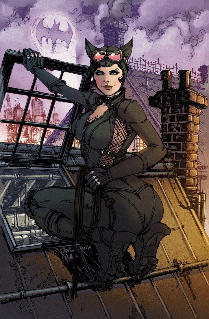 Catwoman byDaniel Leister & Rachelle Rosenberg