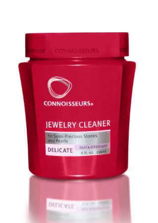 Connoisseurs Delicate Jewelry Cleaner for cleaning pearls, opals, onyx, turquoise and other delicate stone jewelry.