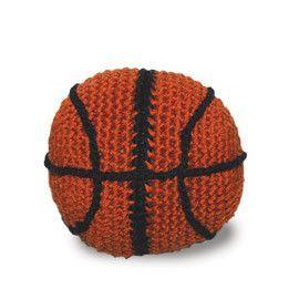 Basket Ball Crochet Dog Toy