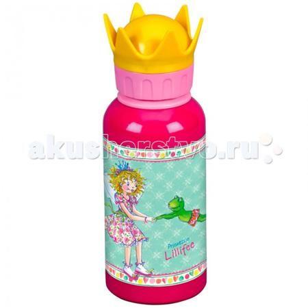 Spiegelburg Бутылка для питья Prinzessin Lilifee 12040  — 1249р.   Бутылка для питья Prinzessin Lilifee с удобной крышкой в виде короны желтого цвета. На корпусе бутылочки изображена принцесса с крылышками и ее другом - лягушонком.  Благодаря компактному размеру бутылочку удобно брать с собой на прогулку, в поездку или в школу. Ведь у ребенка всегда должна быть возможность попить воды, особенно, если он активно проводит время на улице или в спортивном зале.  Особенности:   Размер: 19 см