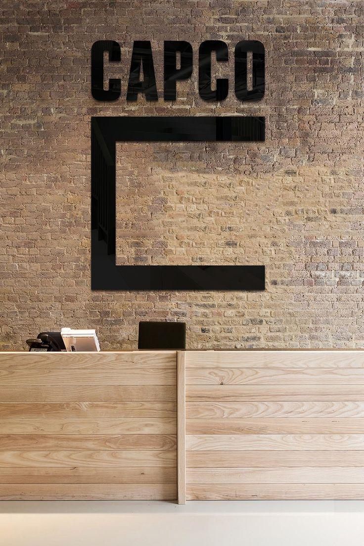 Avalisa letter upper case t stretched wall art - Work Bruce Mau Design