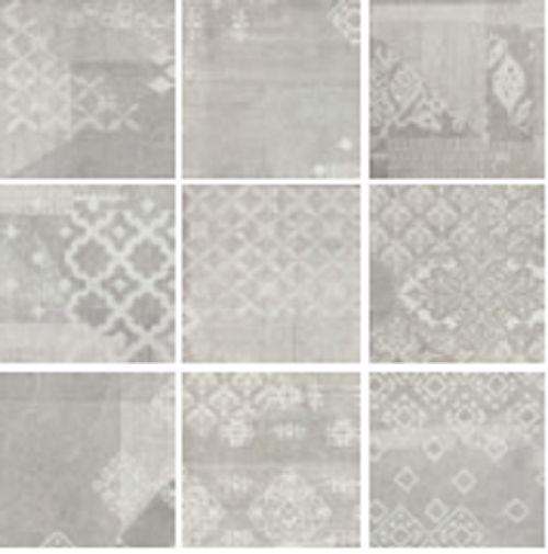 Provenza Gesso Dekor Patchwork Pearl Grey 20x20 Cm 023x8rb