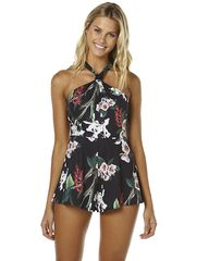 ISLA BY TALULAH WASTED WORD WOMENS PLAYSUIT - WASTED WORDS