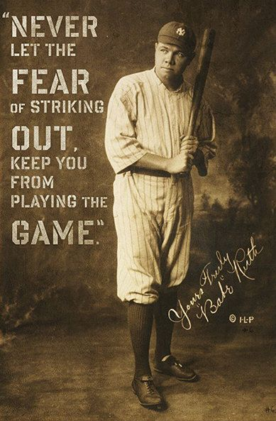 Or the fear of breaking both arms... ha ha ha...(too soon?)