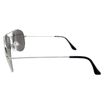 Women's Aviator Sunglasses - Silver, Light Silver